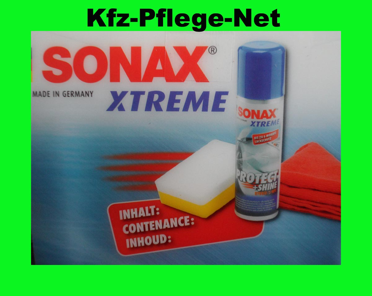 sonax xtreme protect shine hybrid npt autopflege ebay. Black Bedroom Furniture Sets. Home Design Ideas