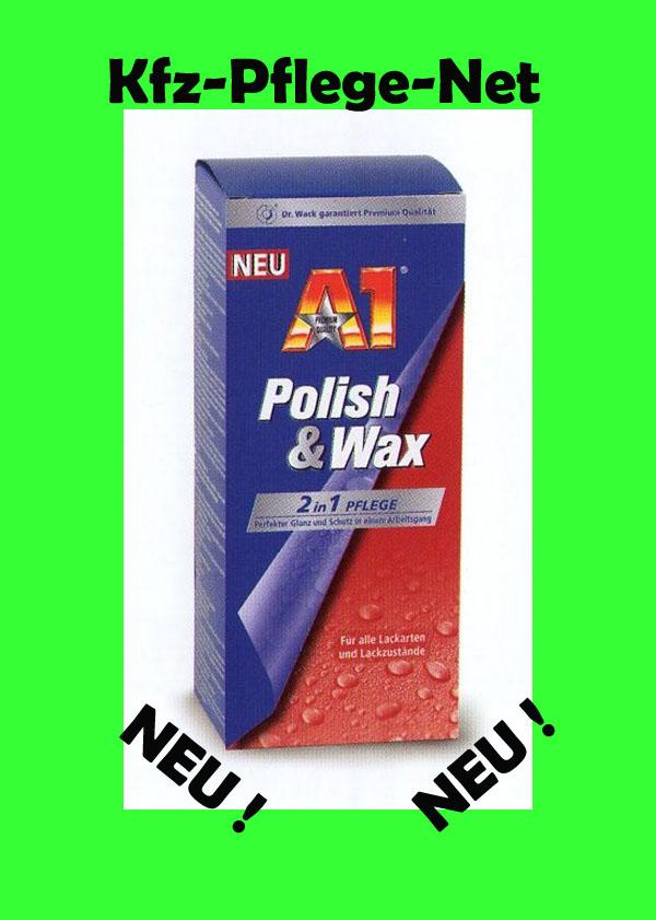 dr wack a1 polish wax a1 speed shampoo ebay. Black Bedroom Furniture Sets. Home Design Ideas